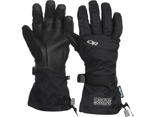 Outdoor Research Ambit Guantes Hombre, negro/gris